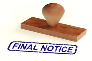 Spanish Eviction Notice Requirements