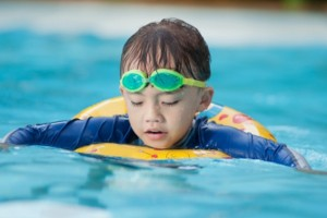 Parents of disabled child win legal battle to install lift in their  community  swimming-pool