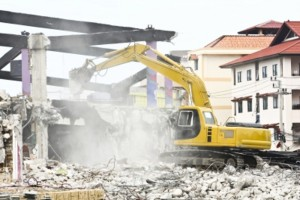 Constitutional inviolability of the home not infringed by demolition order