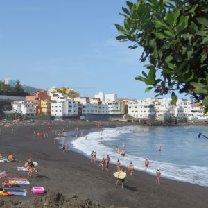 Buying a Property in Tenerife - View of properties nearby the beach.